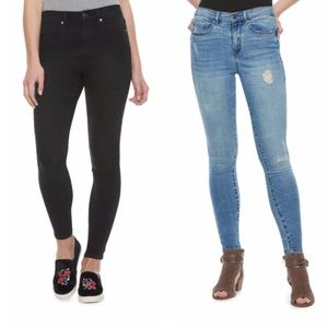 Mudd High Rise Skinny Jeans Bundle
